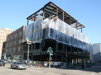 Friday Photos: The New Mercantile Building