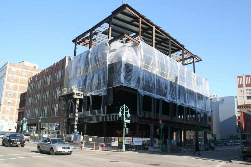 Mercantile Building Expansion. Photo by Jeramey Jannene.