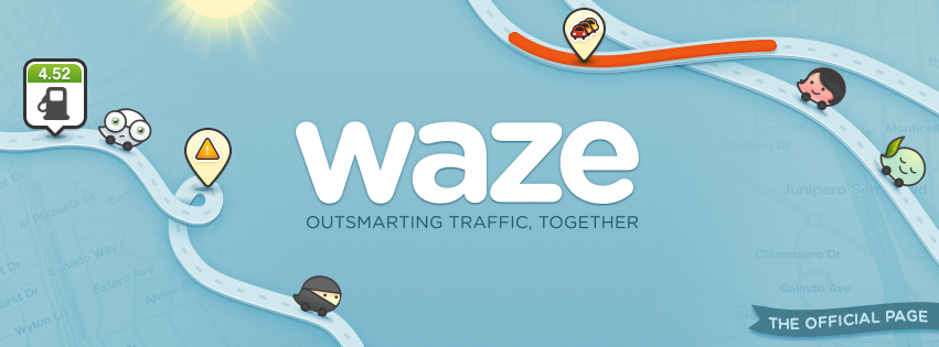 Waze. Photo from Facebook.