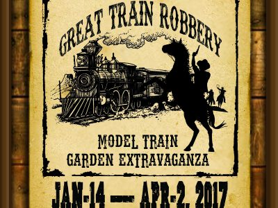 Garden Train Show to Open at The Domes Jan. 14