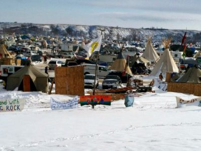 Local Activists Join Dakota Protest