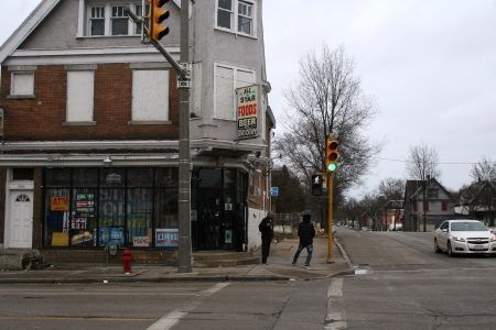 All Star Foods, at the intersection of 27th and Burleigh streets, has been closed since October. Photo by Jabril Faraj.