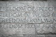Washington DC FDR Memorial. Photo by Michail Takach.