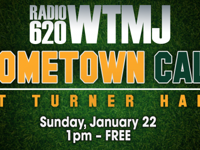 """WTMJ Radio Packers Watch Party – """"Hometown Call at Turner Hall"""""""