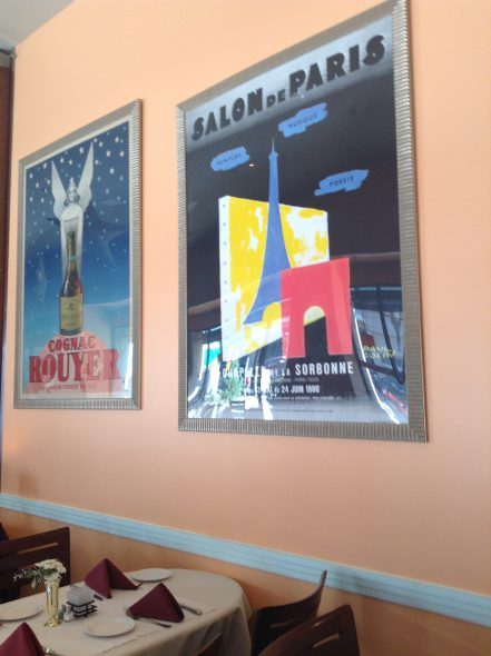 French posters. Photo by Cari Taylor-Carlson.