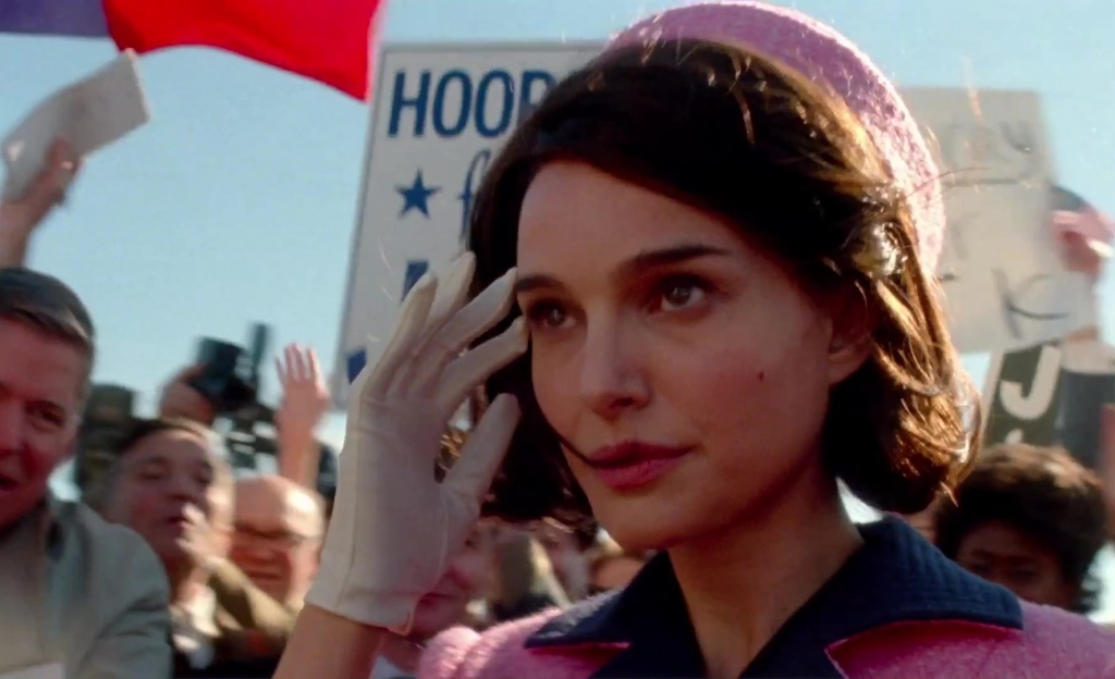 "Natalie Portman as ""Jackie."""