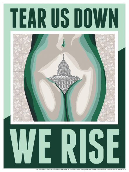 We Rise. By Niki Johnson and Christian Westphal.