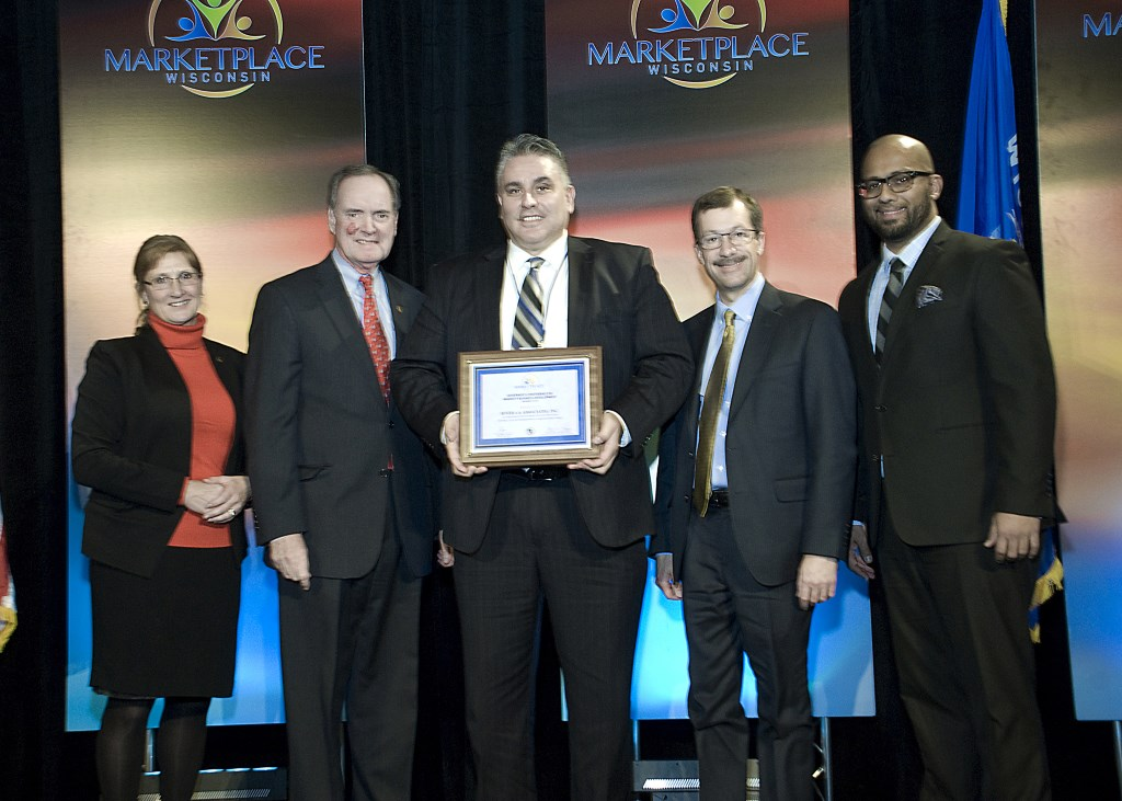Rivera & Associates, Inc. Selected as a Finalist in the Outstanding Business Category at the Governor's Marketplace. Photo courtesy of Rivera & Associates, Inc.
