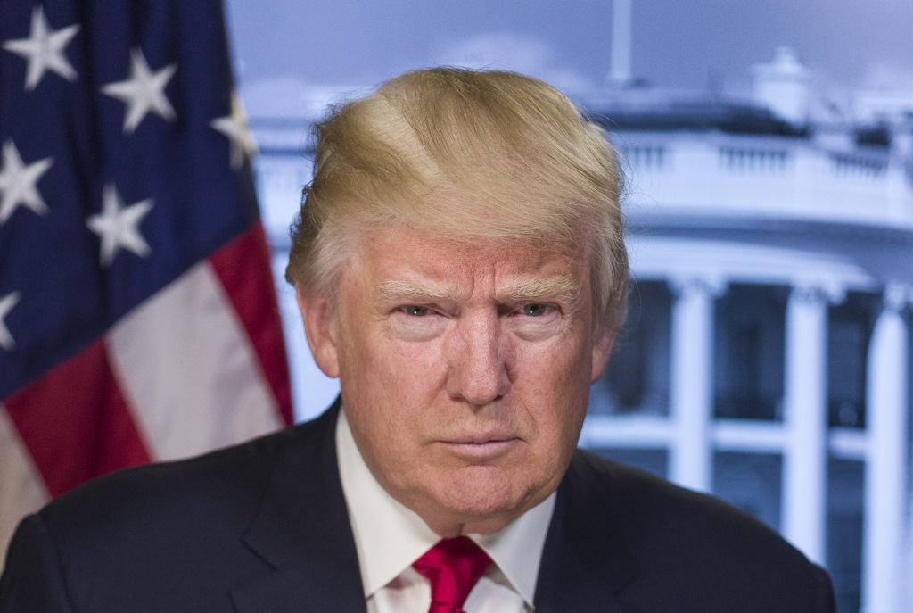 Donald Trump. Photo from whitehouse.gov.