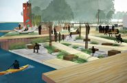 Take Me to the River. Rendering by Quorum Architects and Ayres Associates.