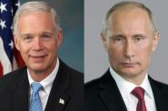 Ron Johnson and Vladimir Putin. Johnson photo from the U.S. Federal Government. Putin photo from www.kremlin.ru.