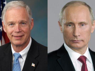 Murphy's Law: Ron Johnson Asleep on Russian Hacking?