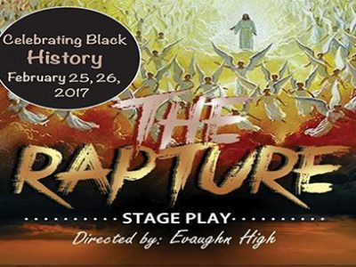 """The Rapture"" Directed by Evaughn High and Music Director Jermaine Rideout Comes to the Marcus Center's Wilson Theater at Vogel Hall February 25-26, 2017"