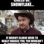 Back in the News: Sheriff Clarke's Meltdown?