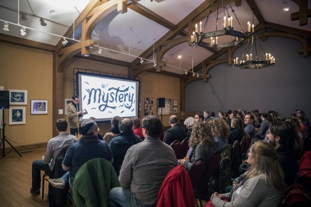 CreativeMornings Milwaukee. Photo by Erin Leverence