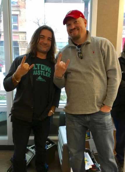 Dominic Salvia and Mike Crute. Photo courtesy of The Devil's Advocates Radio.