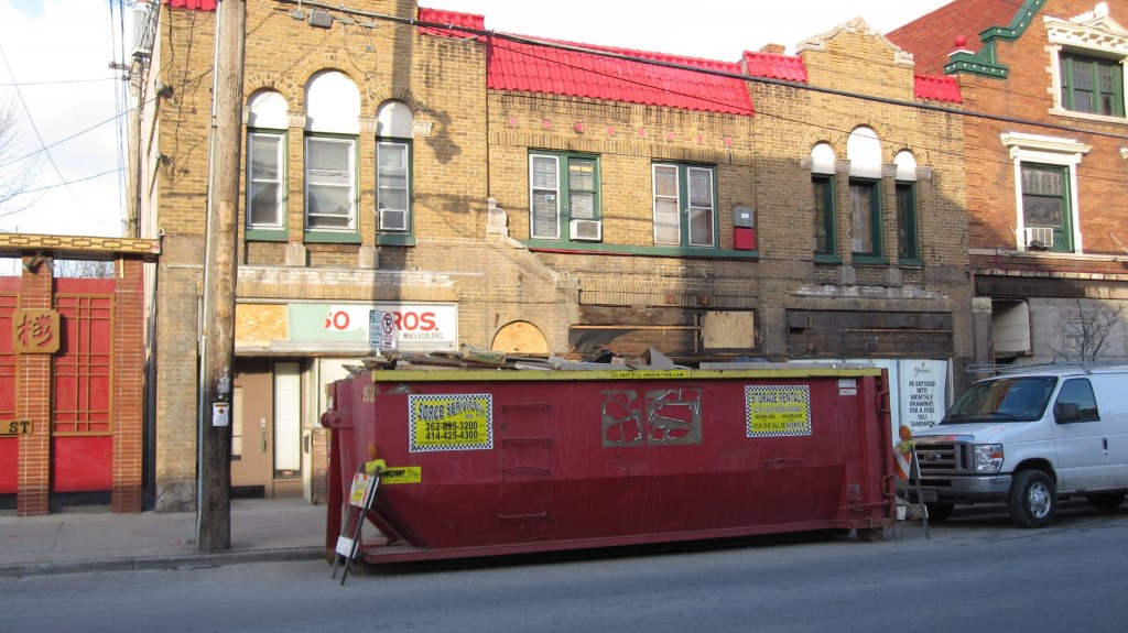Former Glorioso Bros. Market, 1018 E. Brady St. Photo by Michael Horne.