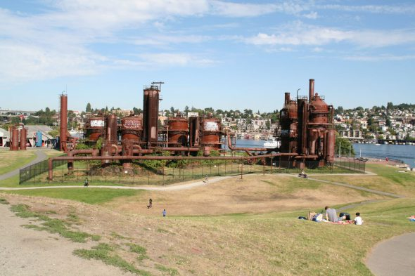 Gas Works Park. Photo by Jeramey Jannene.