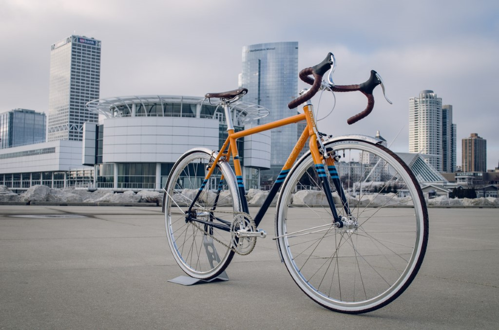 Fyxation Bicycle Co. Puts their Support Behind the New Milwaukee Flag With a One of a Kind Flag Bike