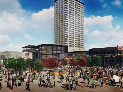 City Panel Approves Bucks Plaza Design