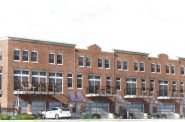 Third Ward Townhouses. Rendering by Renner Architects.