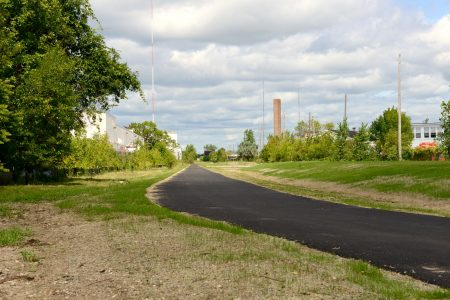 The Beerline Trail was extended into Harambee and Riverwest in 2015. Photo by Sue Vliet.