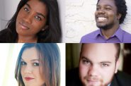 Ariana Douglas, Leroy Y. Davis, Ashley Puenner and Thomas Leighton.