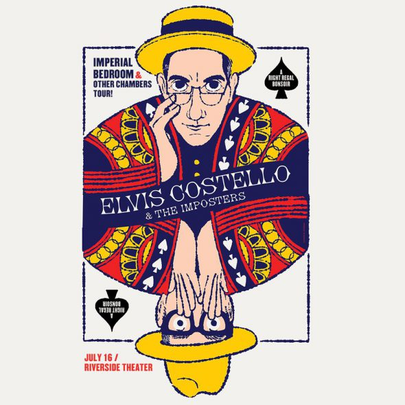 "Elvis Costello & The Imposters Bringing their ""Imperial Bedroom & Other Chambers"" Tour back to North America"