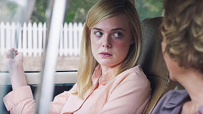 "Elle Fanning (with Bening) in ""20th Century Women."""