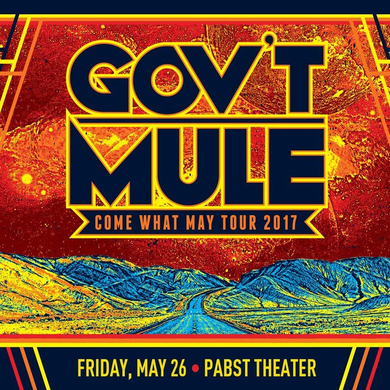 Southern Rock Jam Band Gov't Mule Returns for an evening at The Pabst Theater
