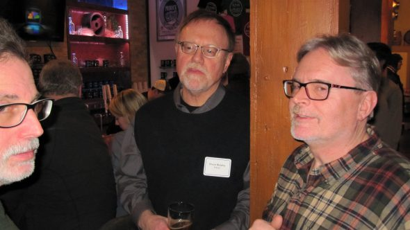 Charles Banks, Bruce Murphy and Jon Ray. Photo by Michael Horne.