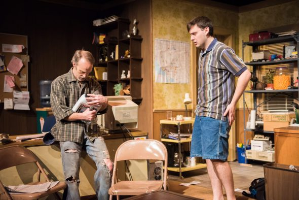 James Ridge as Bryan, Mitch Bultman as Matthew. Photo by Paul Ruffolo.