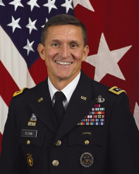 Michael Flynn. Photo is in the Public Domain.
