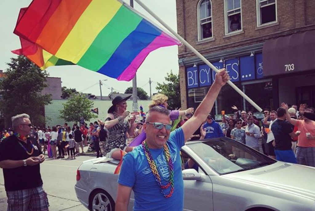 Milwaukee Pride Parade. Photo by Michail Takach.