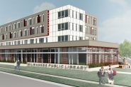 Good Hope Road Branch. Rendering (Version 3) by Engberg Anderson.