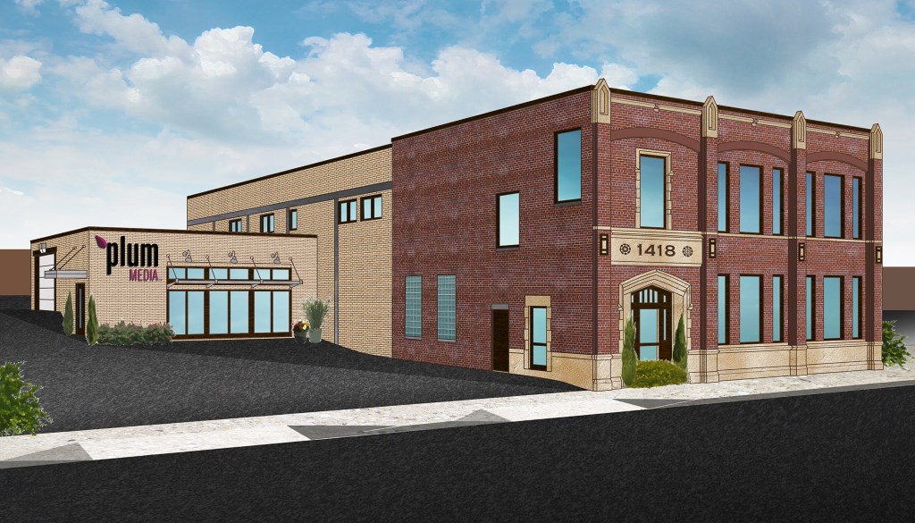 Plum Media, 1418 W. St. Paul Ave., Rendering.