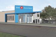 BMO Harris Bank Sherman Park Branch Rendering.