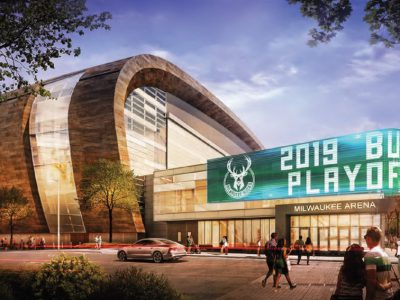 Eyes on Milwaukee: Bucks Unveil New Signs for Arena
