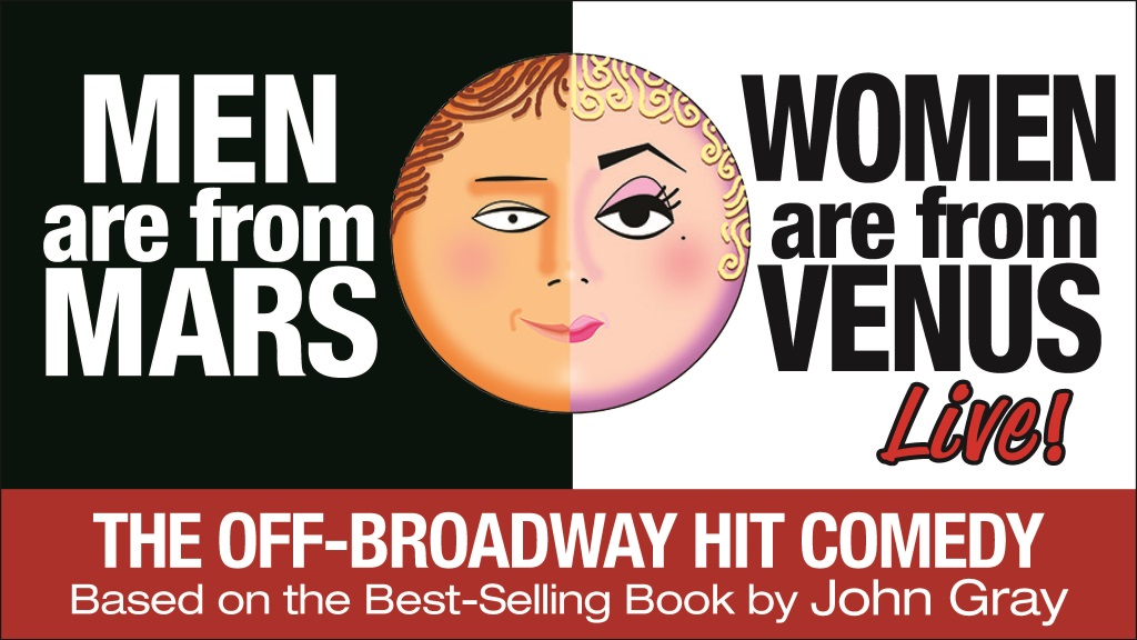 Men Are From Mars, Women Are From Venus Tickets On Sale February 14