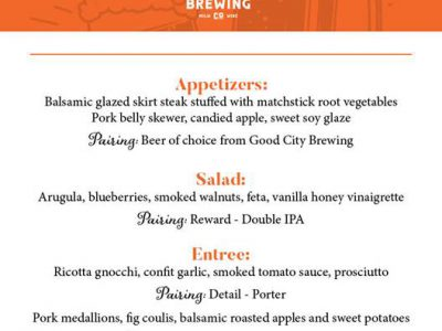 """Say """"Be Mine"""" to MOTOR at the Valentine's Beer Dinner"""