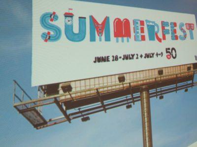 Plenty of Horne: Summerfest Plans Bang-Up Banner