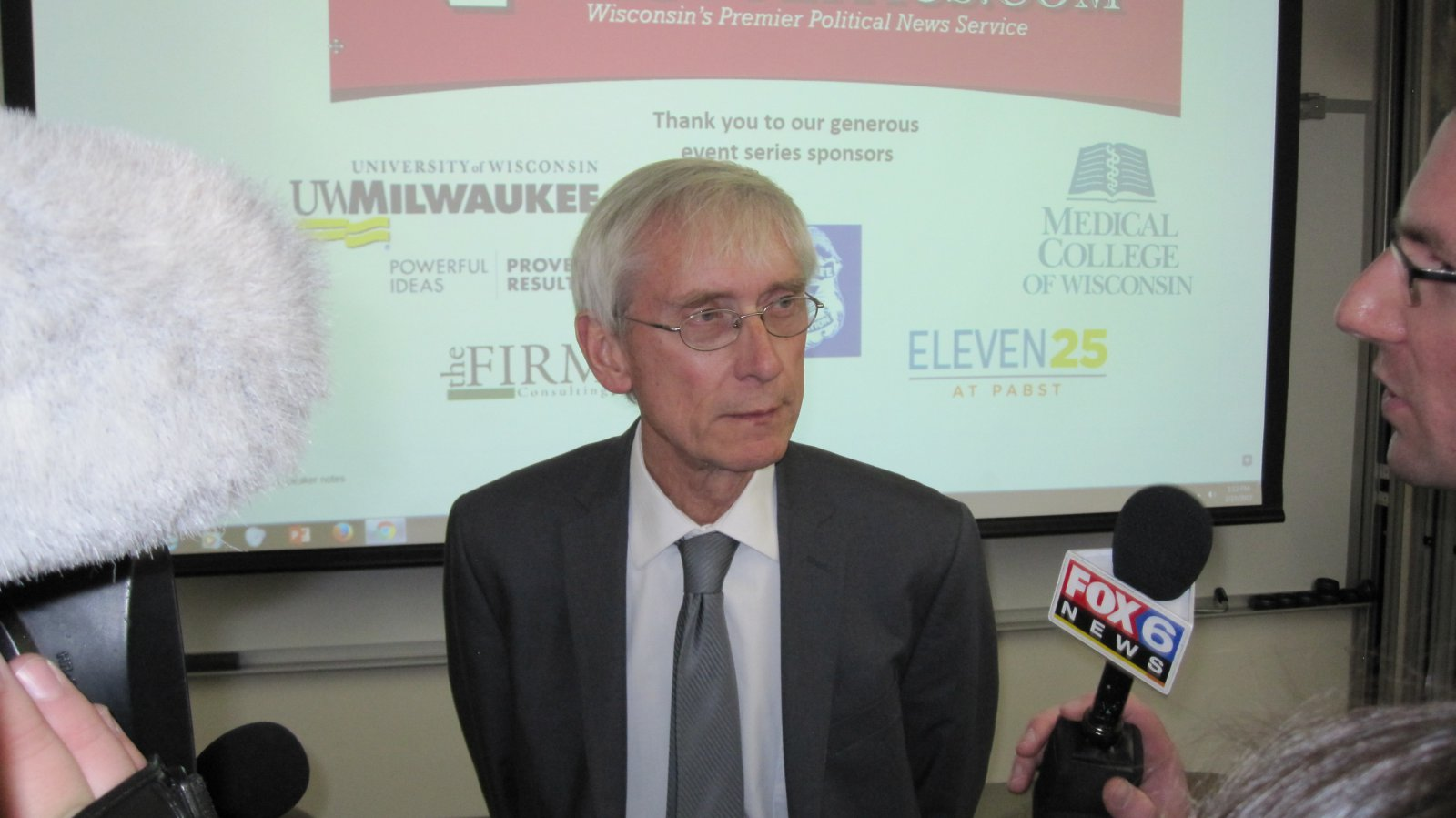 Tony Evers. Photo by Michael Horne.