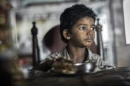 Sunny Pawar as the young Saroo. Photo from the Weinstein Company.