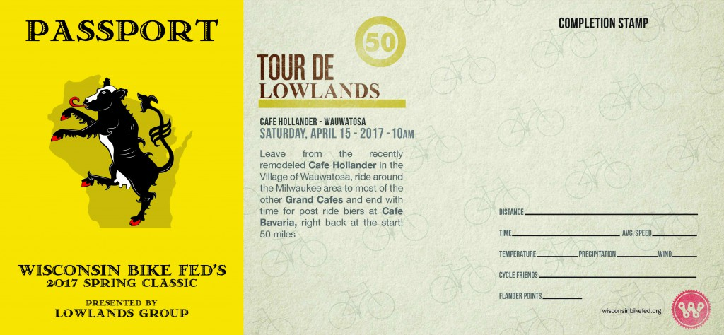Get your passport stamped after every ride and keep track of your Flanders Points!