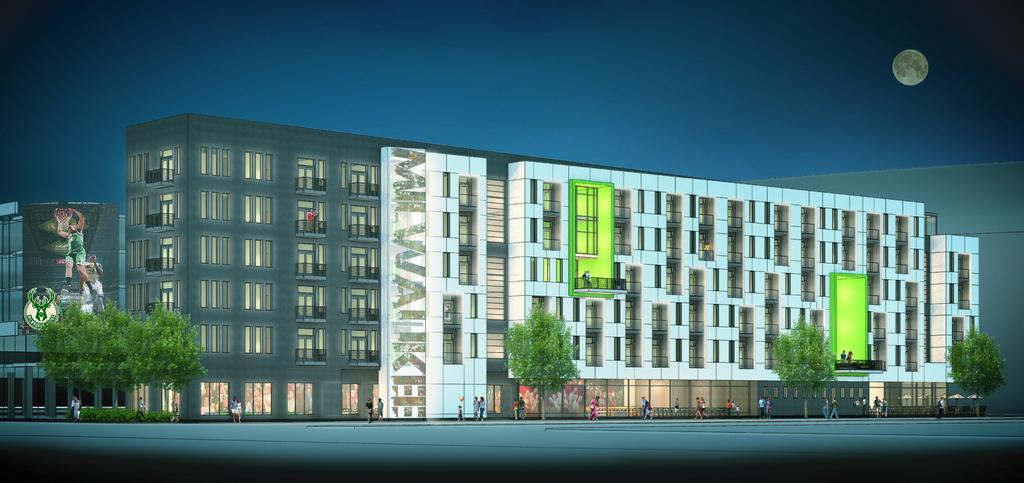 Bucks Apartments Rendering. Rendering by Engberg Anderson.