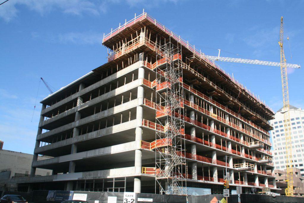777 N. Van Buren St. Construction. Photo by Jeramey Jannene.