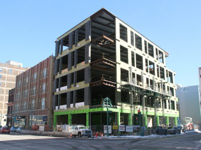 Friday Photos: Mercantile Building Redefines Water Street