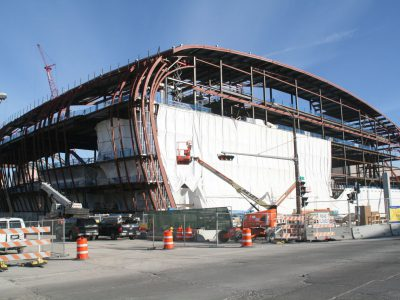 Friday Photos: Bucks Arena Taking Shape