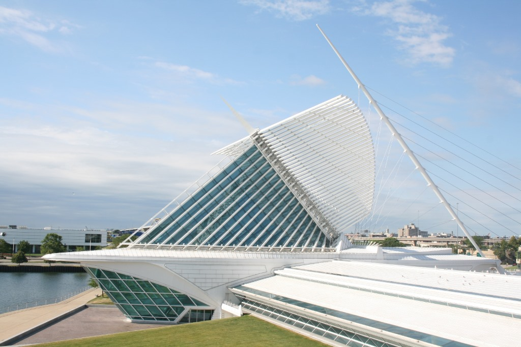Milwaukee Art Museum.