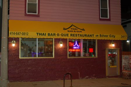 Thai Bar B Que, opened in 2006, serves Northern and Southern Thai dishes. Photo by Camille Paul.